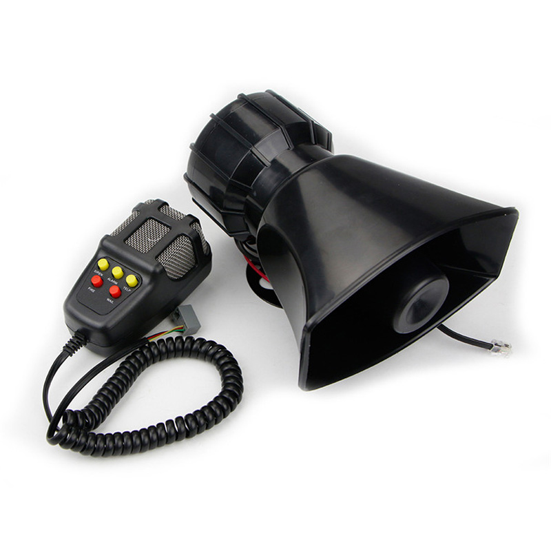 Police Fireman Ambulance Car Truck electric Siren Alarm Horn 100W High power 5 tone Emergency Warning