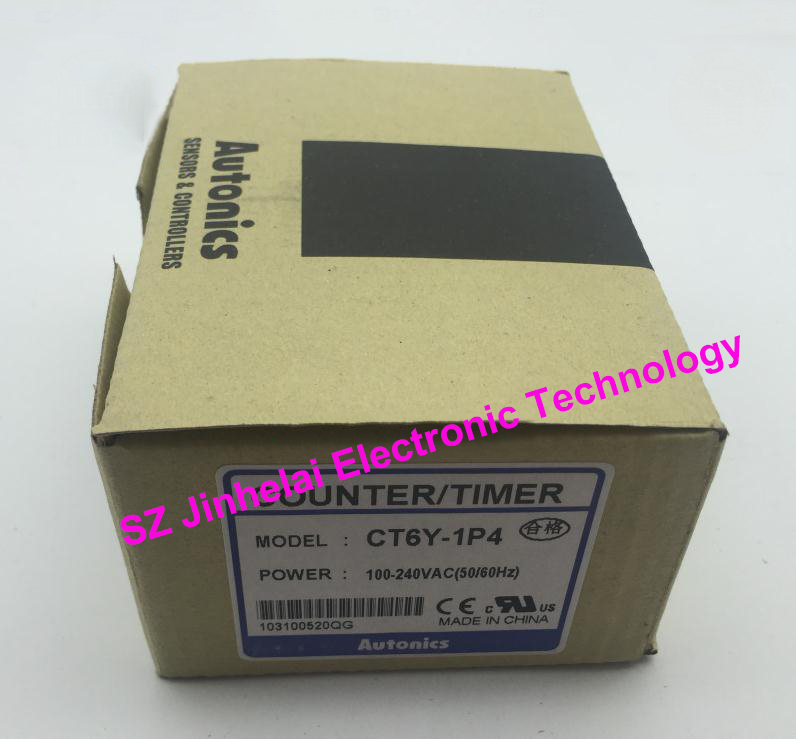 CT6Y-1P4 New and original AUTONICS Count relay 100-240VAC Counter/timer цены