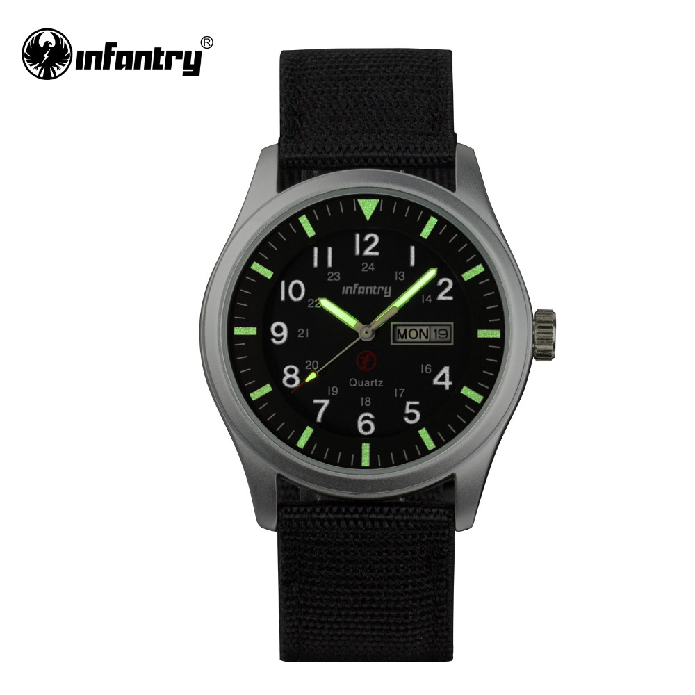 infantry mens wristwatches top brand luxury quartz watch. Black Bedroom Furniture Sets. Home Design Ideas