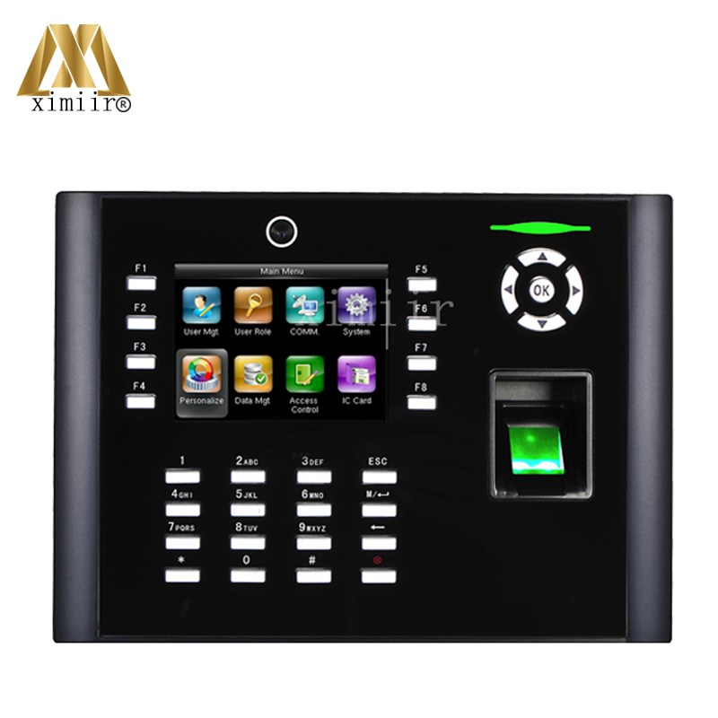 Multifunctional Iclock680 fingerprint time attendance and access control system TCP/IP time recording with free software and SDK image