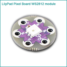 New LilyPad Pixel Board WS2812 module for arduino