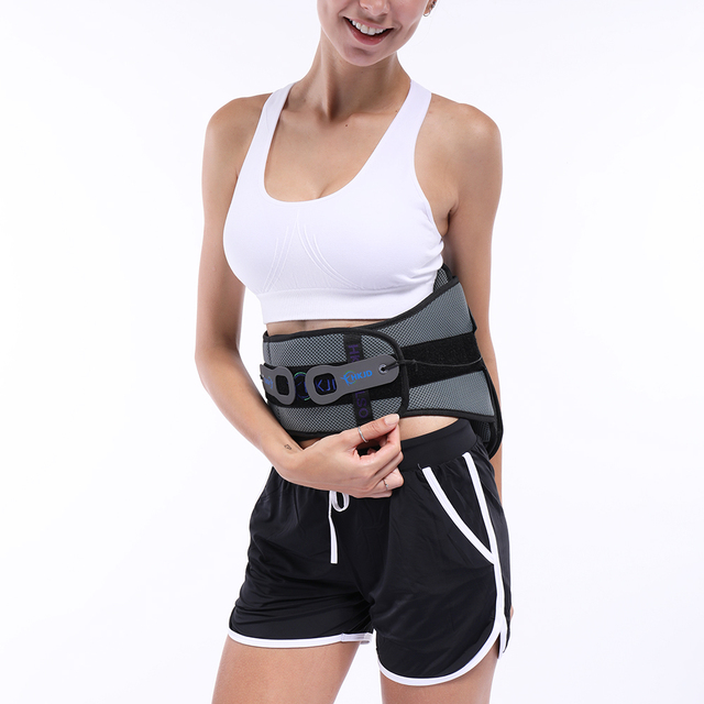 Lumbar Back Spinal Spine Waist Brace Support Belt Corset Stabilizer Cincher Tummy Trimmer Trainer Weight Loss Slimming 2
