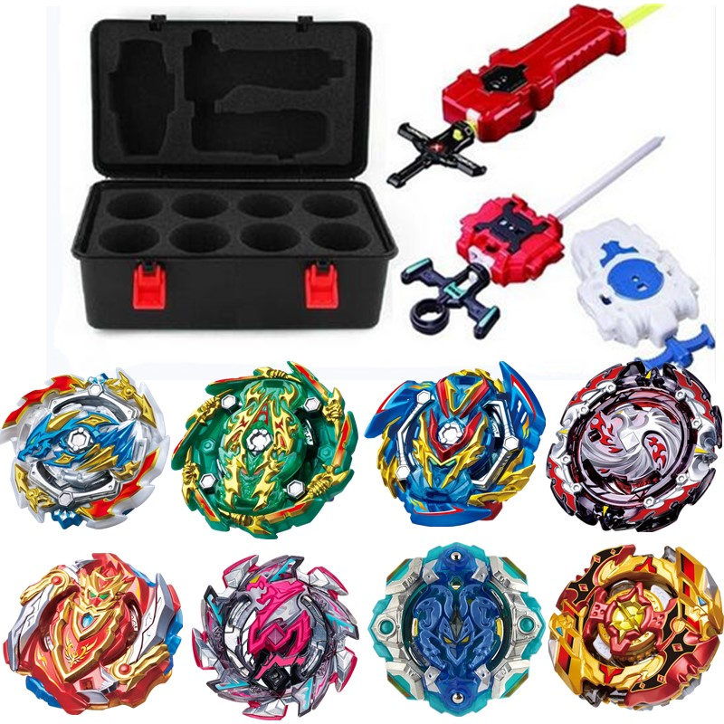 New suit Burst Arena Launchers <font><b>B</b></font>-134 <font><b>B</b></font>-133 <font><b>Beyblades</b></font> Metal Fafnir Avec God Spinning Top Bey Blade Blades Classic Toys For Kids image