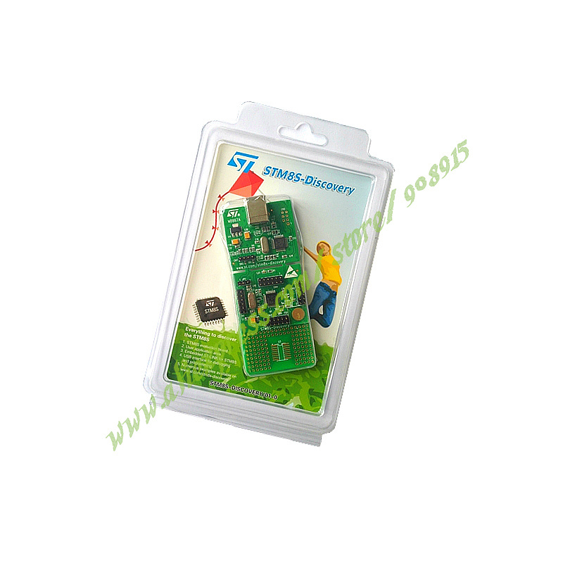 Free Shipping STM8S-DISCOVERY STM8S105C6T6 STM8S105 STM8S Discovery Kit Evaluation Development Board Embedded ST-Link