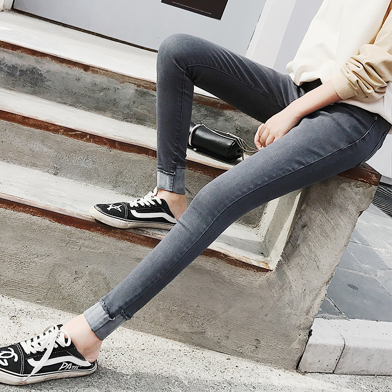 Jeans   with high wiast for women pants for women skinny push up   jeans   9N12