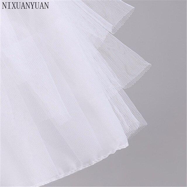 New Children Petticoats for Formal/Flower Girl Dress 3 Layers Hoopless Short Crinoline Little Girls/Kids/Child Underskirt 3