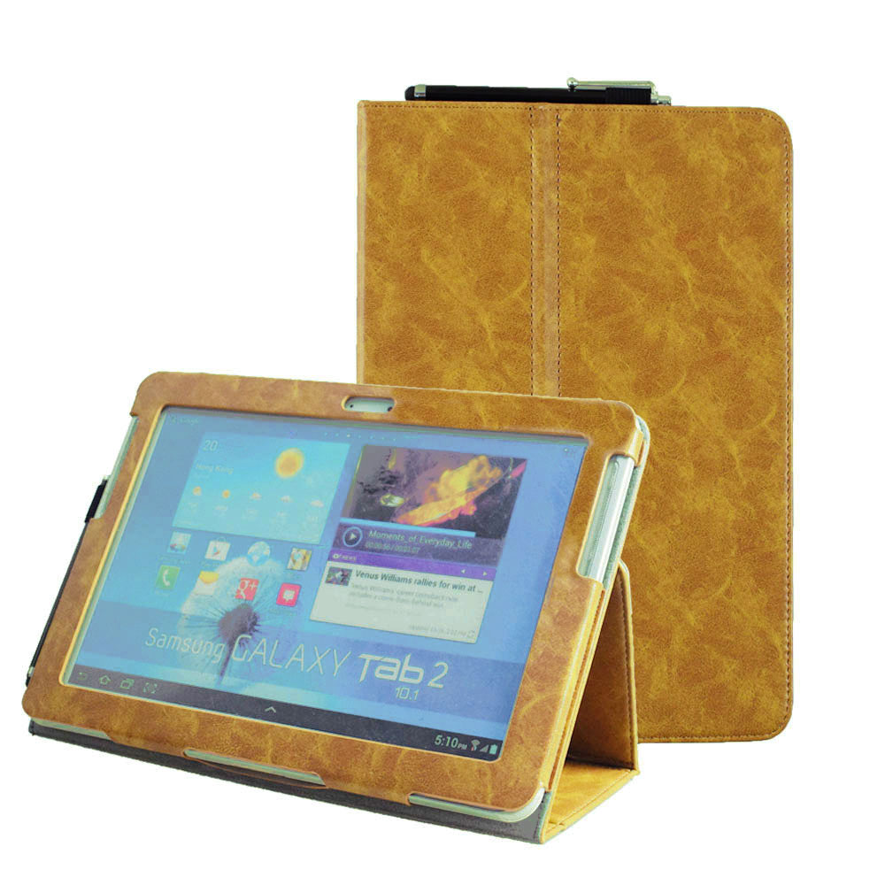 Book Cover Case : Tab  old model p folio pu leather book