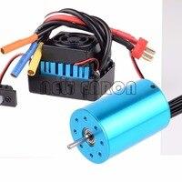 NEW ENRON RC CAR 1:10 Brushless ESC 60A 37017 (03307) Motor 3300KV 03302 107051 Lipo RC S10(60A) 107051B For HSP 1/10