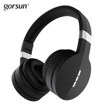 E88 On-ear Stereo Dobrável Sem Fio Bluetooth Headset Gorsun Fones de Ouvido Leves com Memória Macio-Earmuffs Proteína para telefones
