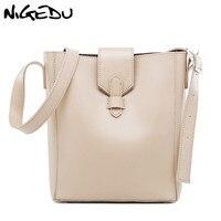 Simple Women Bucket Shoulder Bag Female PU Leather Woman Handbag Large Capacity Composite Bag Designer Casual big Tote Bags