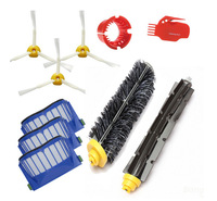 vacuum cleaner filter&brush Parts Kit for iRobot Roomba 600 Series 595 620 630 650 660 Replacement 2 brush 3 side brush 3 hepa filter 1 cleaning cylinder robot vacuum cleaner 610 611 627 620 630 650 replacement parts