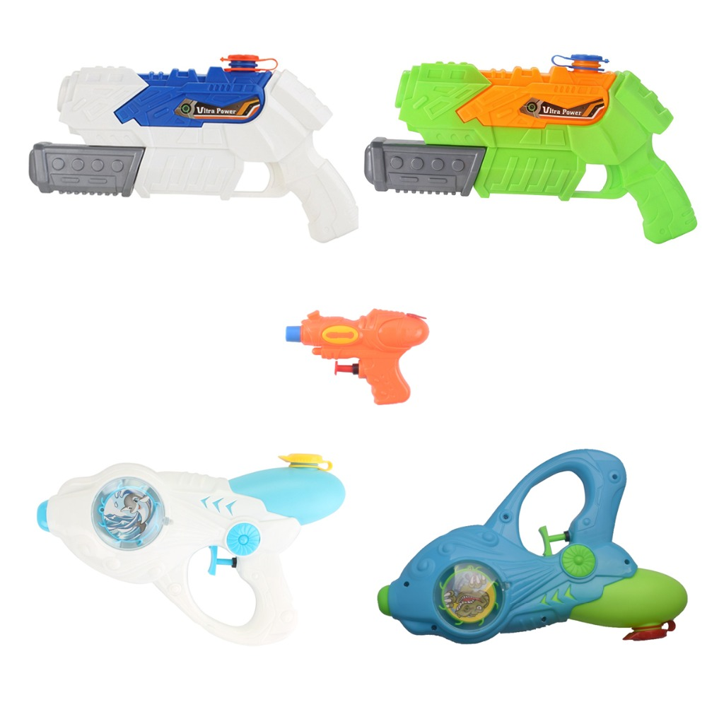 Water Guns Flashing Light Up Summer Toy For Kids Adults Squirt Gun Blaster In Buck Pool Bath Party Favors Outdoor Indoor Toy