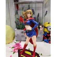 Justice League DC Comics Super Girls Supergirl Figure Doll PVC Action Figure Collection Model Toy Superman
