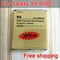Venta caliente recargable b600bc batería de reemplazo de oro para samsung galaxy s4/i9500/i9508/i9502/i959 i9500/i9505 batería