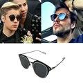 Selena Gomez Justin Bieber vestido con Composit Dokly gafas de sol Polarizadas gafas de Sol UV 400 Gafas de Sol de La Vendimia Oculos De Gafas