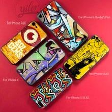 Fashion Colorful Graffiti TPU Soft Silicon Back Cover Case for Coque iPhone SE Case 5 5S Funda Cases for iPhone 5S SE 5 Cover цена