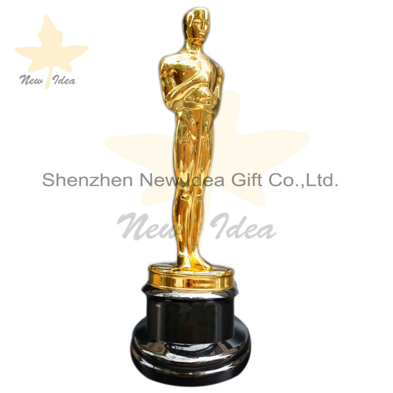 Free dhl shipment with 1 1 replica metal oscar trophy for Oscar home