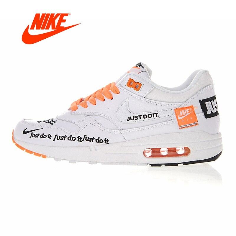 Nuovo Arrivo originale Autentico Nike Air Max 1 Just Do It degli uomini Runningg Scarpe Sport Outdoor Scarpe Da Ginnastica di Buona Qualità 917691 -100