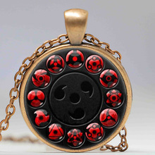 Uchiha All Sharingan Pendant Necklace