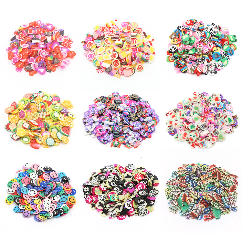 Slime Filler Charms For Slime Supplies Kit Fluffy Slimes Fruit Polymer DIY Clear Slime Accessories Slide Putty Clay Toys 2019