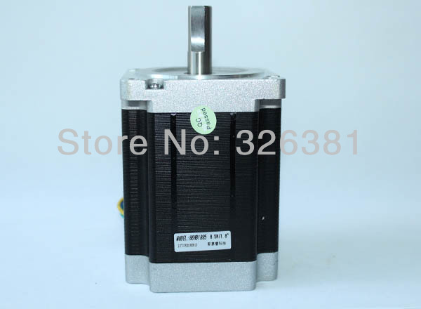 цена на 86 stepper motor two-phase 86 hb11585 torque 8.5 N.m fuselage 115 mm The diameter of axle 14 mm 4 wire hybrid stepper motor