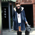 #3004 2016 Cotton Slim Chaqueta Denim jacket Women jacket spring Fashion Jeans jacket women Fashion With Hooded Loose Jaquetas