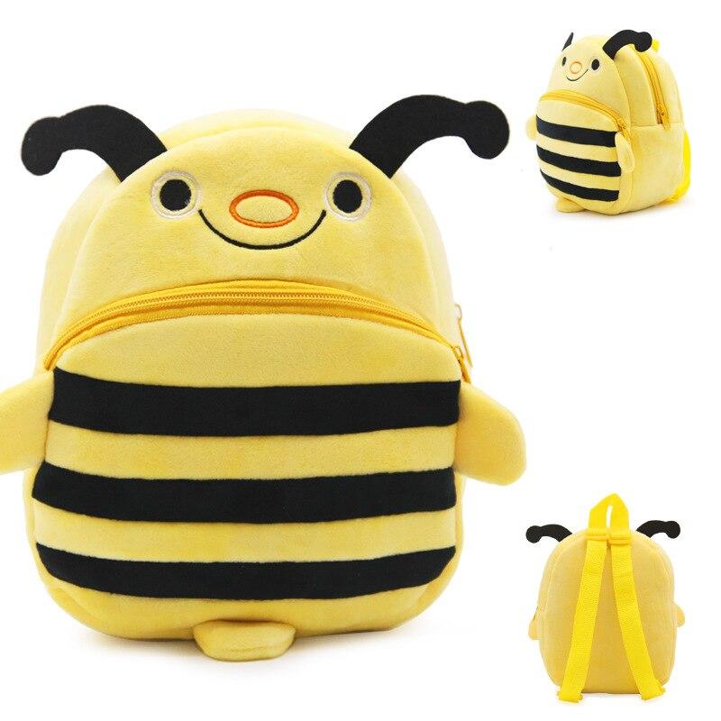 New-Cute-Cartoon-Kids-Plush-Backpack-Toy-Mini-School-Bag-Childrens-Gifts-Kindergarten-Boy-Girl-Baby-Student-Bags-Lovely-Animal-3