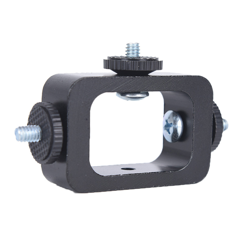 New Universal Adjustable Selfie Stick Tripod Monopod Adapter Head Holder Clip Bracket for Smartphone(China)