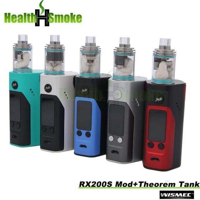 Электронная сигарета wismec reuleaux rx200s tc 200 Вт oled экран окно мод vape прошивки reuleaux rx200s комплект с теоремой танк