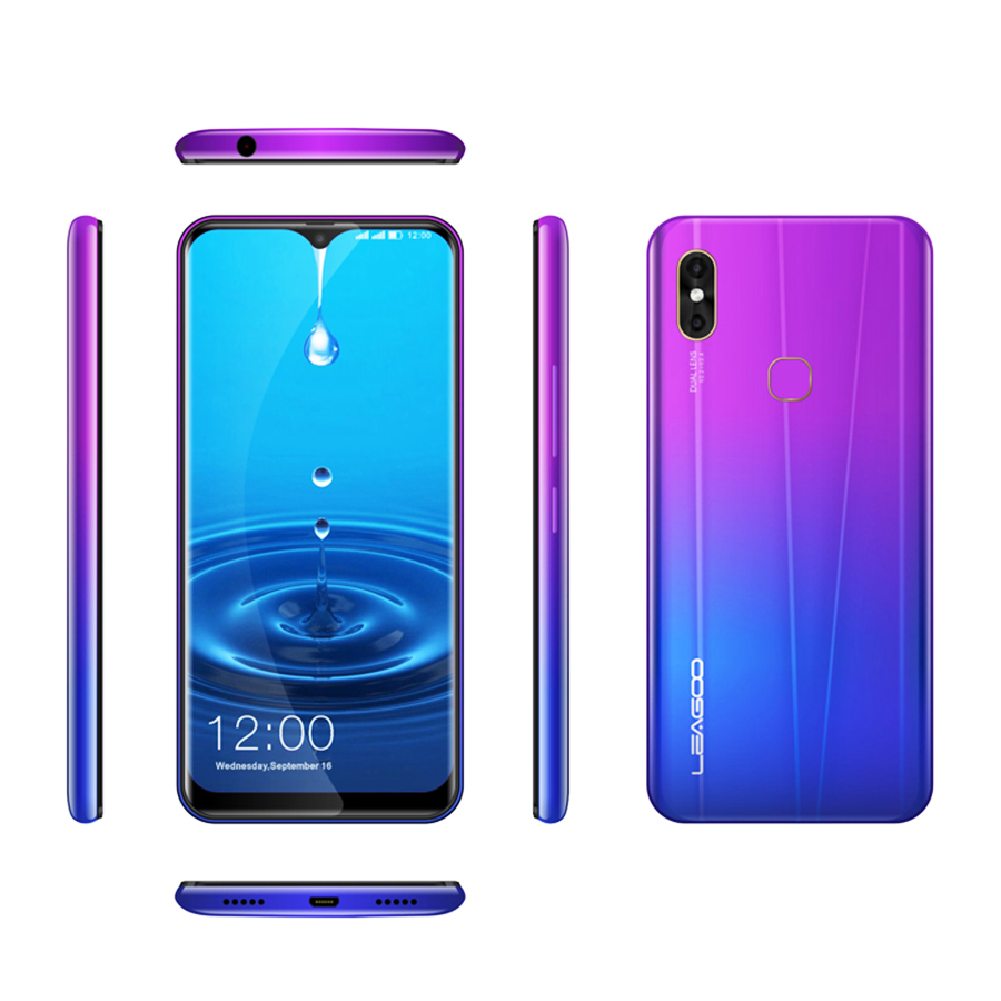 LEAGOO-M13-Android-9-0-Smartphone-6-1-HD-IPS-Waterdrop-Display-4GB-RAM-32GB-ROM (2)