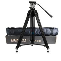 wholesale DHL Pro BENRO KH25N KH 25N Video Camera Tripod Professional Hydraulic Head Magnesium Alloy Tripod+Video Tripods Bag