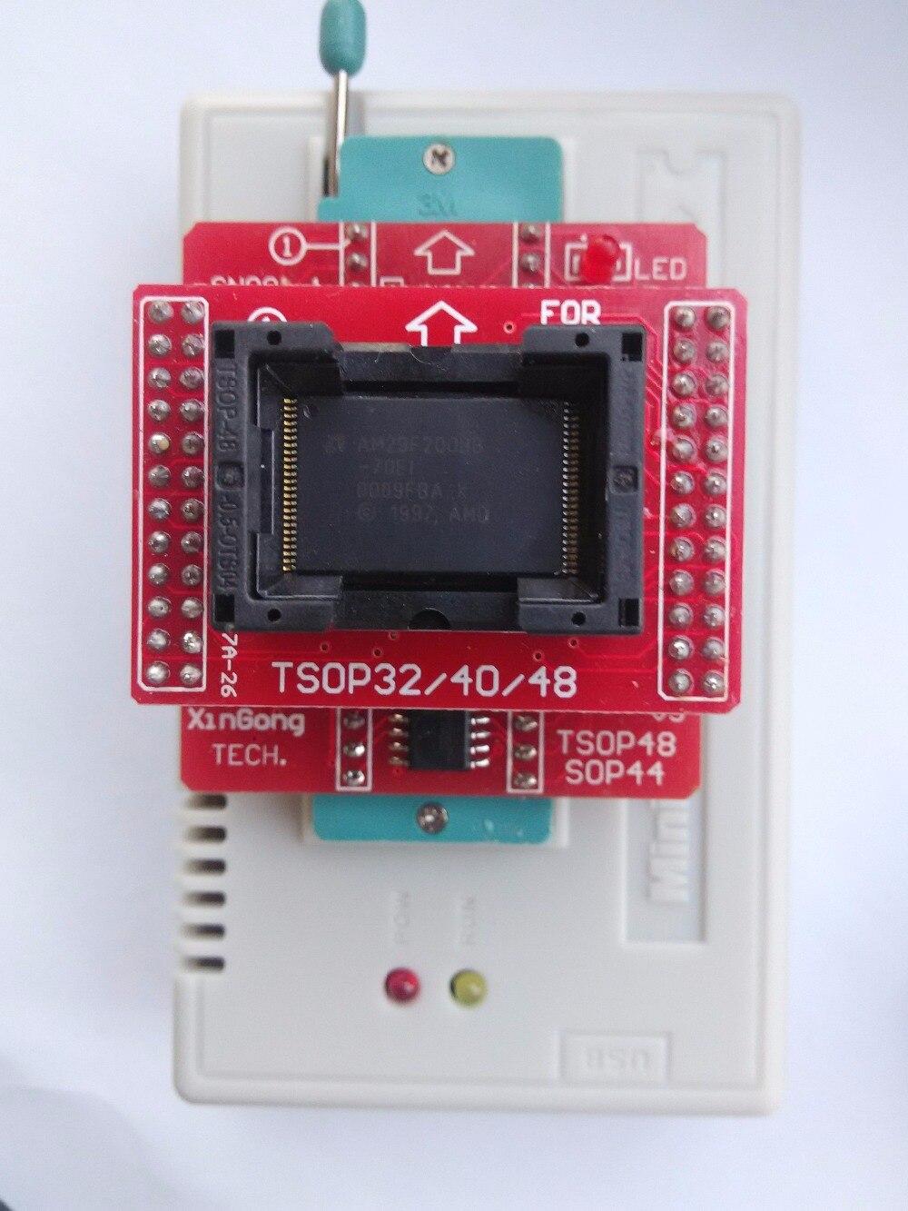 V8 3 XGecu TL866II tl866 ii Plus programmer+24 adapters socket+SOP8 clip  1 8V nand flash 24 93 25 eprom avr mcu Bios program