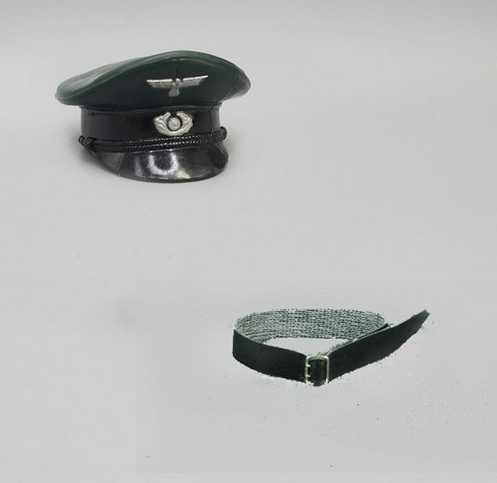 Belt Model-Accessories Scale Buckle German Military World-War-Ii Officer's-Cap Metal