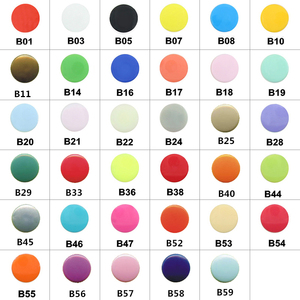 Image 2 - 20 Sets KAM T5 12MM Round Plastic Snaps Button Fasteners Quilt Cover Sheet Button Garment Accessories For Baby Clothes Clips