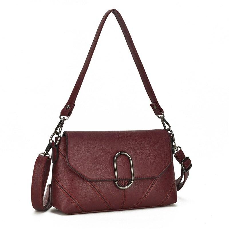 Hot Sale 2018 Fashion Women Messenger Bags Soft Cowhide Genuine Leather Crossbody Female Shoulder Bags For Women Ladies Handbags