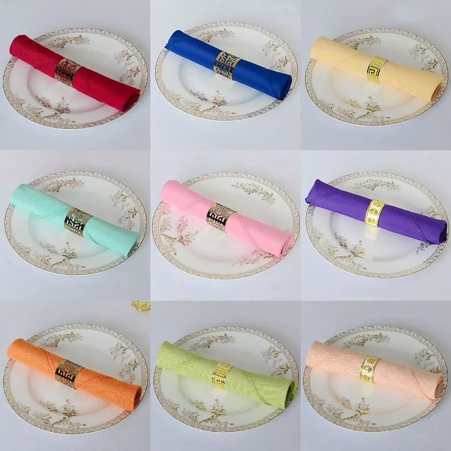 Compra servilletas de tela azul online al por mayor de - Donde comprar vajillas ...