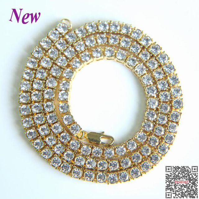 2018 sale rushed hip hop jewelry mens hip hop bling iced out tennis 2018 sale rushed hip hop jewelry mens hip hop bling iced out tennis chain 1 row aloadofball Images