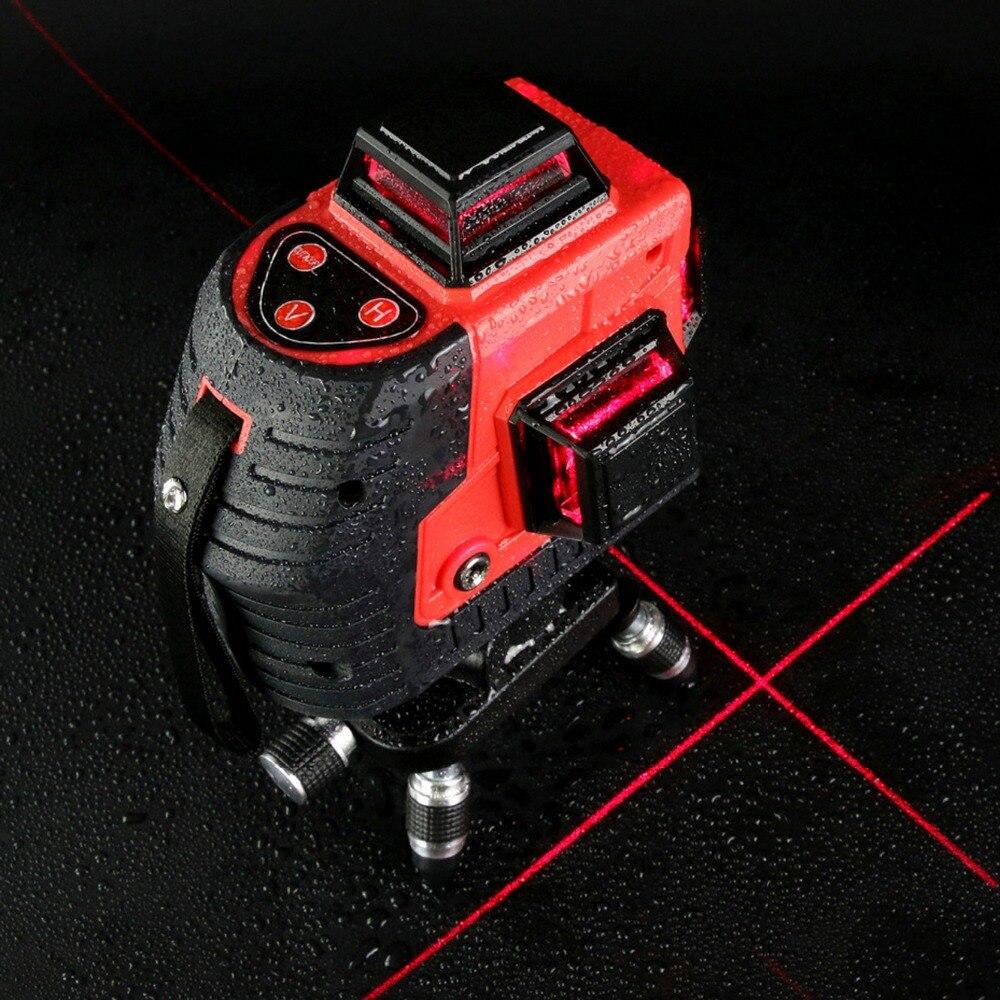 Professional construction tools 12 Lines Laser Level Horizontal and Vertical Cross Line laser level leveling Laser Level Kit