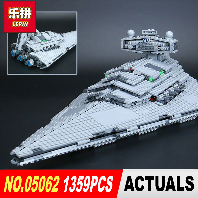 lepin 05062 star wars fighters starship super star destroyer model Building kits Blocks Bricks LegoINGlys 75055 Toys for boys lepin 05062 genuine star series wars the star model destroyer set legoing 75055 building blocks bricks educational toys for gift