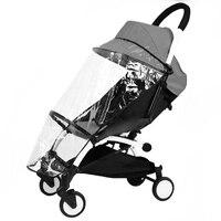 Carrinho de bebê capa de chuva para yoyo yoao acessórios do carrinho de bebê poncho capa de chuva capa protetora do vento|Capas p/ chuva| |  -