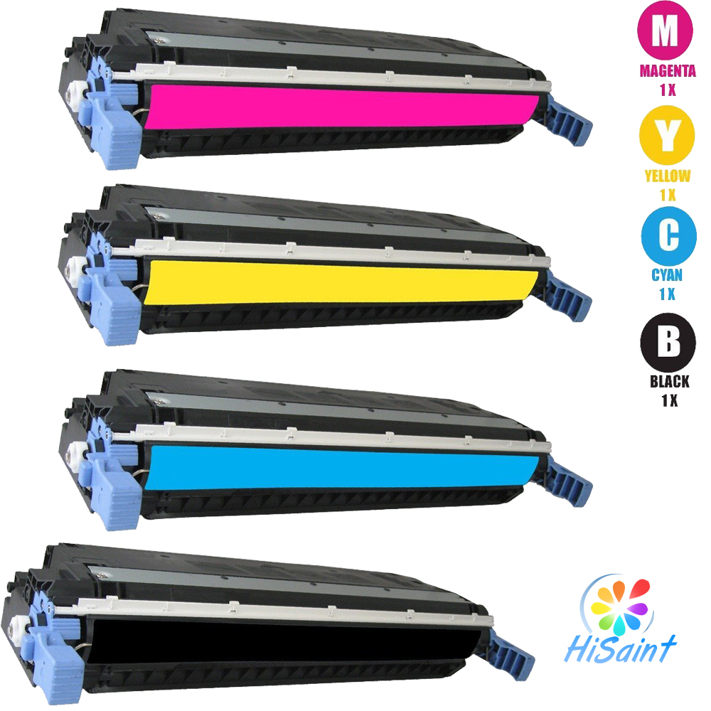 ФОТО Lissting Replacement For HP 503A Toner Cartridge - (BK C Y M) Q6470A Q7581A Q7582A Q7583A For HP Color LaserJet Series Printers