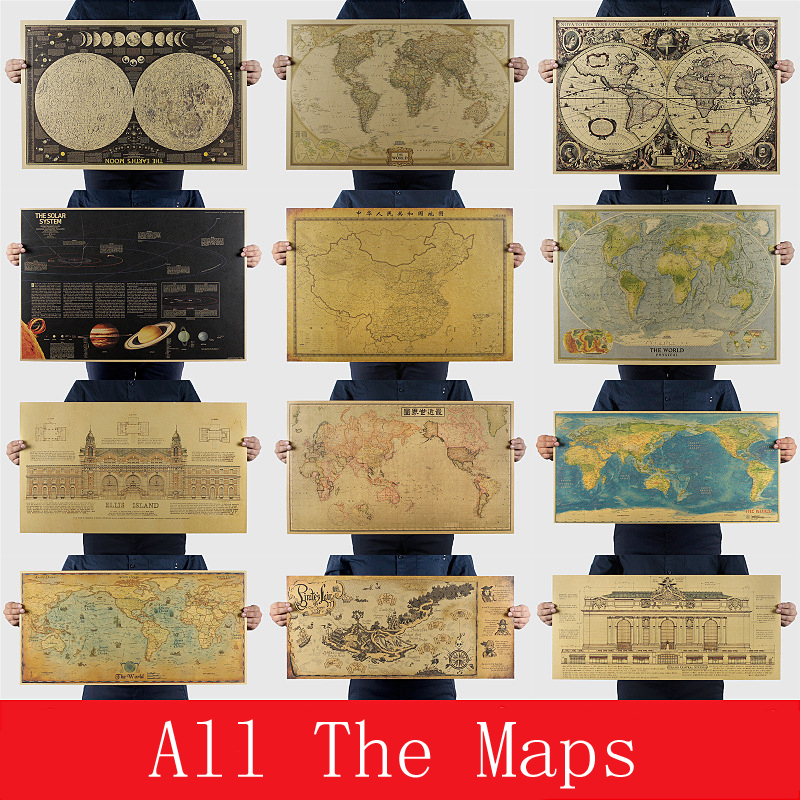 All the collection of maps...