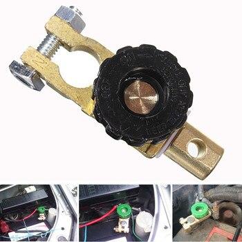 CARPRIE samochód motocykl zacisk akumulatora Link Quick Cut-off przełącznik obrotowy odłącznik izolator samochodów ciężarówka Auto części pojazdu JU009
