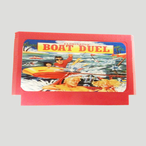 Top Quality Game Cartridge 60 Pins 8 Bit Integrated Game Card Better Than Bean Card — Boat Duel