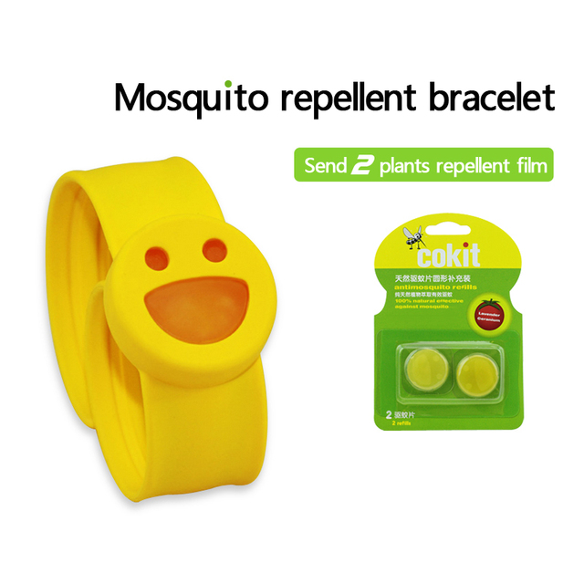 Baby mosquito repellent bracelet bracelet mosquito repellent coil Child Adult anti-mosquito repellent film to send two plants