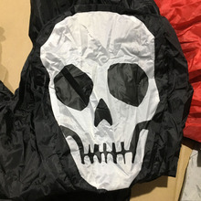 Inflatable Grim Reaper Costume Adult Skeleton Anime Fancy Ghostly Dress For Man