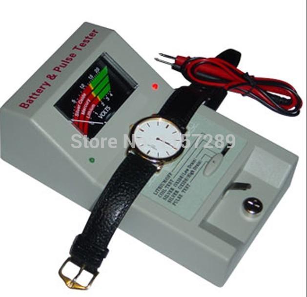Frete grátis Mais Recente Ferramenta de Bateria do Relógio Movimento De Quartzo e Bateria Tester