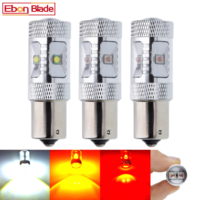 2Pcs 1156 BA15S P21W 7506 Car LED Light XBD 30W Reverse Brake Stop Bulb Turn Signal Lamp Auto Styling 12V 24V DC White Red Amber-in Signal Lamp from Automobiles & Motorcycles