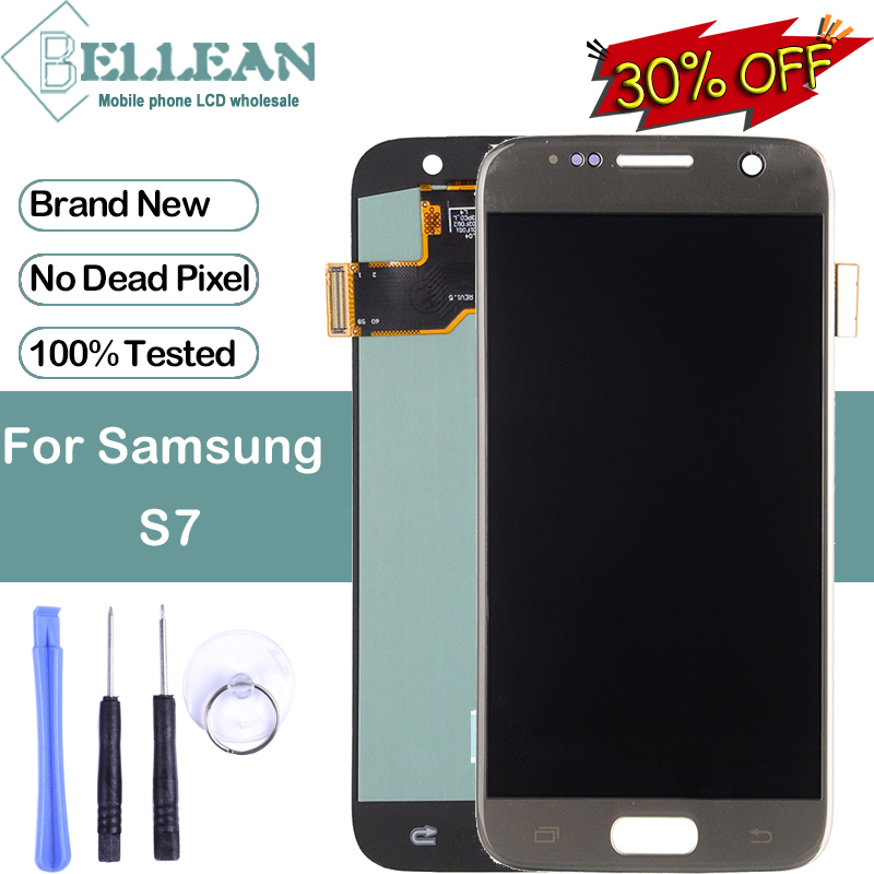 Promotion Dinamico <font><b>S7</b></font> <font><b>Display</b></font> For <font><b>Samsung</b></font> <font><b>Galaxy</b></font> G930 Lcd With Touch Screen Digitizer Assembly <font><b>G930FD</b></font> G930F LCD With Tools image