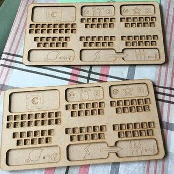 5pcs Terraforming Card Game Storage Box Organizer for Wooden Receiving Compact Wooden Case The Broken Token Box Stand Size novastar mrv210 receiving card mrv210 1 mrv210 4